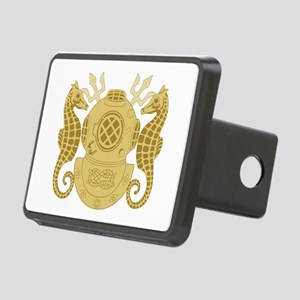 Navy Diving Officer Rectangular Hitch Cover