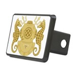 Navy Diving Medical Office Rectangular Hitch Cover