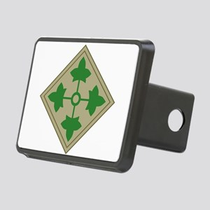 4th Infantry Rectangular Hitch Cover