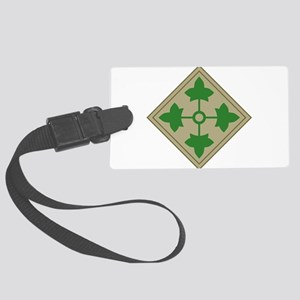 4th Infantry Large Luggage Tag