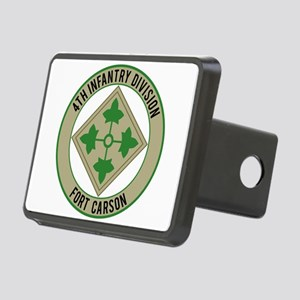 4th Infantry post Rectangular Hitch Cover