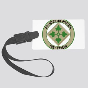 4th Infantry post Large Luggage Tag