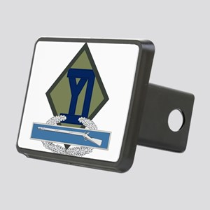 26th Infantry CIB Rectangular Hitch Cover