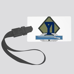 26th Infantry CIB Large Luggage Tag