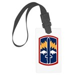 171st Infantry Bde Large Luggage Tag