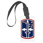 172nd Infantry Large Luggage Tag