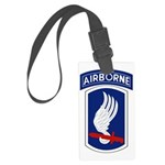 173rd Airborne Bde Large Luggage Tag