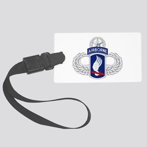 173rd Airborne Master Large Luggage Tag