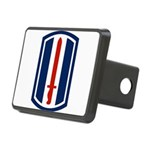 193rd Infantry Rectangular Hitch Cover