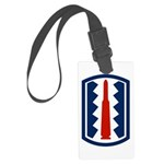 197th Infantry Large Luggage Tag