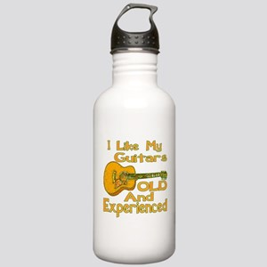 Old Guitar Stainless Water Bottle 1.0L
