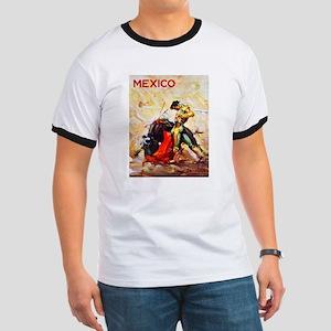 Mexico Travel Poster 2 Ringer T