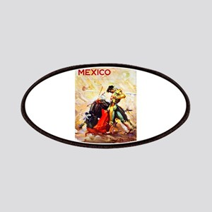 Mexico Travel Poster 2 Patches