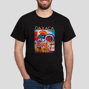 Mexico Travel Poster 5 Dark T-Shirt