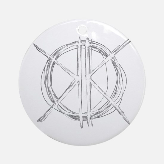 K's Circle Ornament (Round)