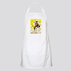 Old West Travel Poster 1 Apron