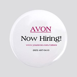 "Avon Recruiting 3.5"" Button"