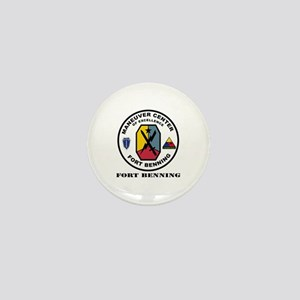 Fort Benning wtih Text Mini Button