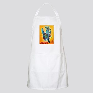 Mexico Travel Poster 10 Apron