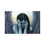 Make-Shift Angel VI: Anonymous 35x21 Wall Decal