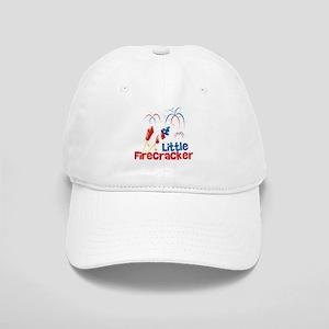4th of July Little Firecracker Cap