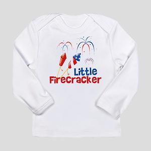 4th of July Little Firecracker Long Sleeve Infant