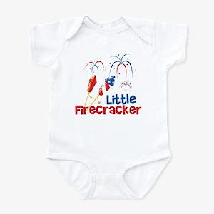 4th of July Little Firecracker Infant Bodysuit