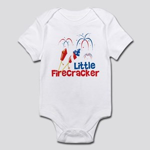 4th of July Little Firecracker Infant Bodysuit