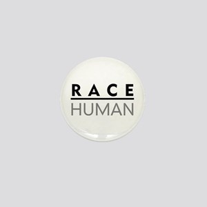 Race Human Mini Button