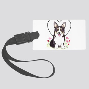 Pembroke Welsh Corgi Large Luggage Tag