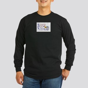 Thank You Armed Forces Long Sleeve Dark T-Shirt