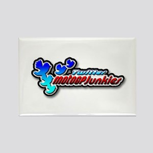 MotoGPJunkies Logo Rectangle Magnet