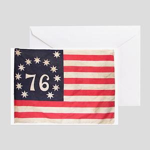 Flag of Bennington III Greeting Card