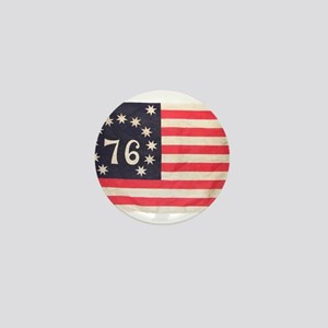 Flag of Bennington III Mini Button