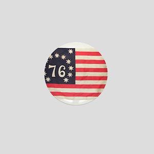 Flag of Bennington III Mini Button