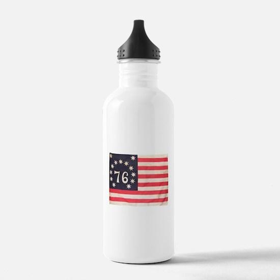 Flag of Bennington III.psd Water Bottle