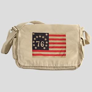 Flag of Bennington III Messenger Bag