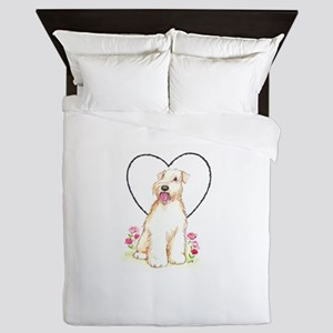 Soft Coated Wheaten Terrier Queen Duvet