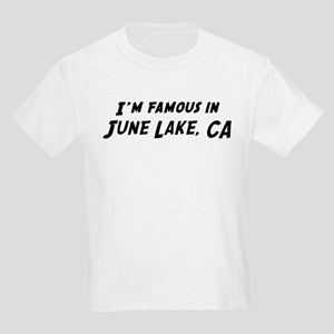 Famous in June Lake Kids T-Shirt
