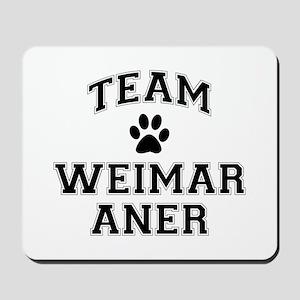 Team Weimaraner Mousepad