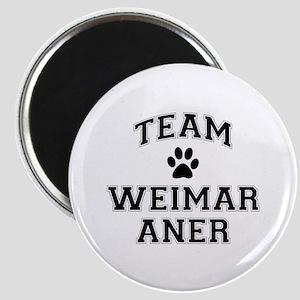 Team Weimaraner Magnet