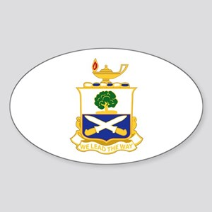 DUI - 29th Infantry Regiment Sticker (Oval)