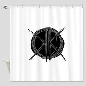 K's Circle Shower Curtain