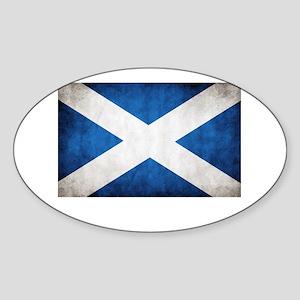 Scotland Sticker (Oval)