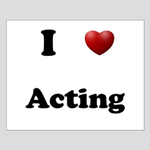 Acting Small Poster