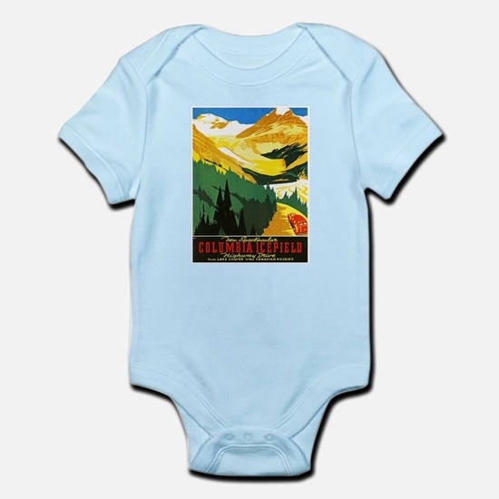 Canada Travel Poster 7 Infant Bodysuit