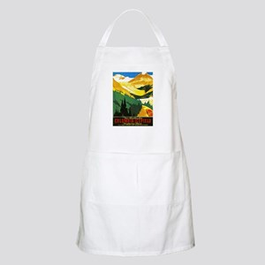 Canada Travel Poster 7 Apron