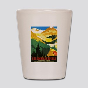 Canada Travel Poster 7 Shot Glass