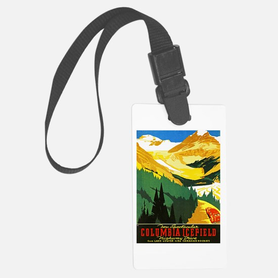 Canada Travel Poster 7 Luggage Tag