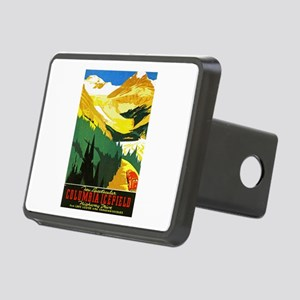 Canada Travel Poster 7 Rectangular Hitch Cover